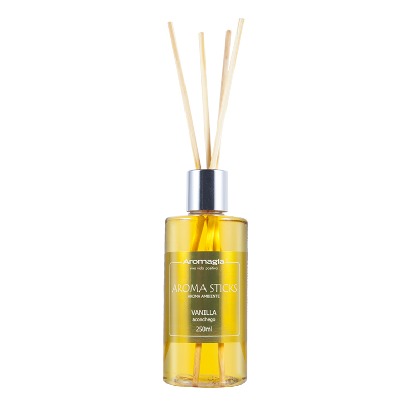 Difusor Sticks Vanilla Aromagia 250ml
