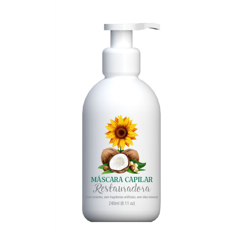 Máscara Capilar Restauradora - 240ml
