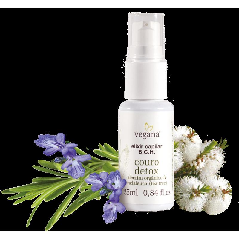Elixir Capilar B.C.H Couro Detox Vegana 25ml