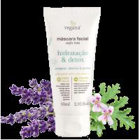 Máscara Facial Hidratação e Detox Vegana 60ml