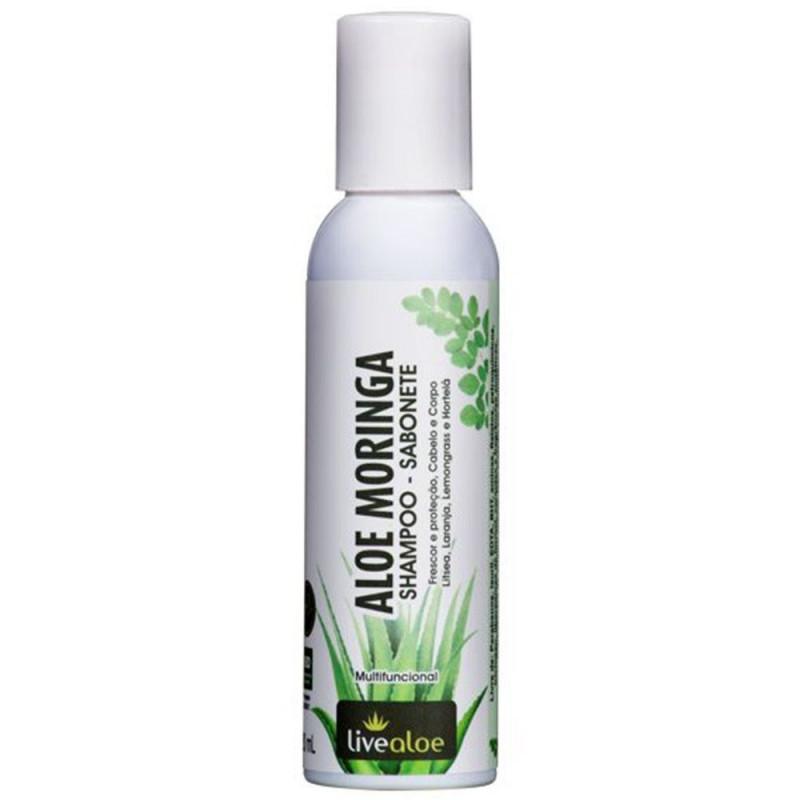 Aloe Moringa Shampoo/ Sabonete - 120ml