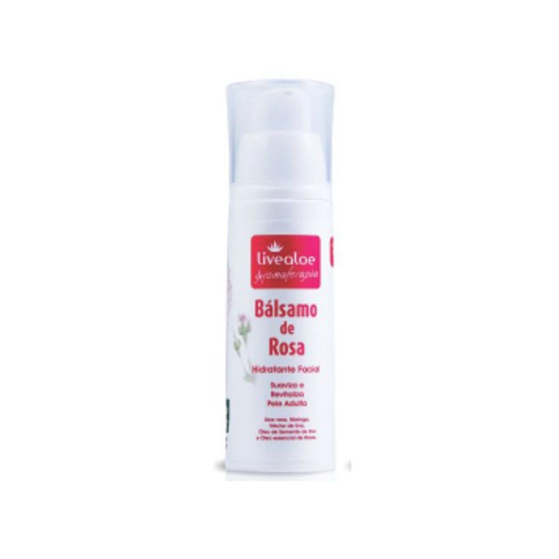 Bálsamo Hidratante de Aloe Vera e Rosa - 30ml