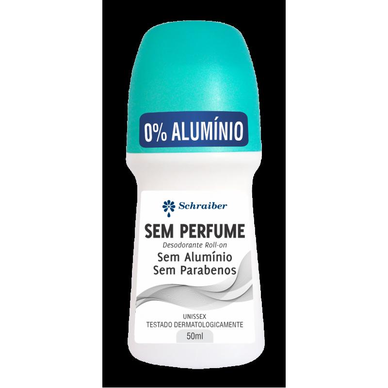 Desodorante Sem Alumínio e Sem Parabenos - Sem Perfume 50ml