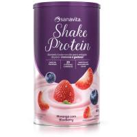 Shake Protein - Morango com Blueberry