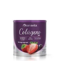 Colágeno Skin - Morango com Açaí